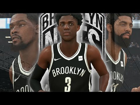 Nba 2K20 MyCareer: Zaire Wade - Zaire Wade Debut For The Brooklyn Nets | NEW BIG THREE