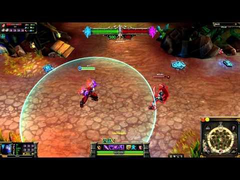 (OLD) Blood Moon Shen League of Legends Skin Spotlight