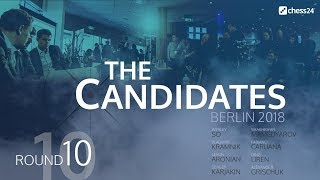 Round 10 - 2018 FIDE Berlin Candidates - Live Commentary