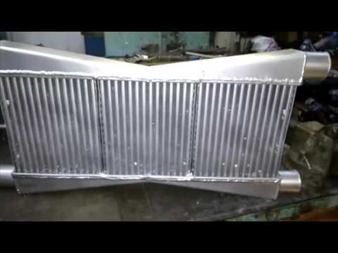 Изготовление интеркулера и прочих радиаторов
