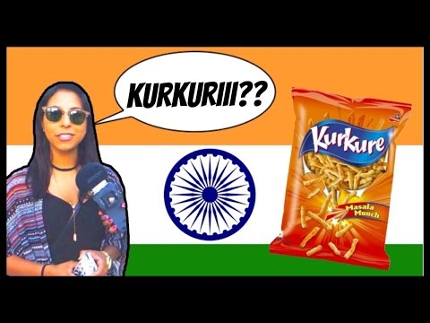 Americans Try KURKURE for the First Time | #Rickshawali