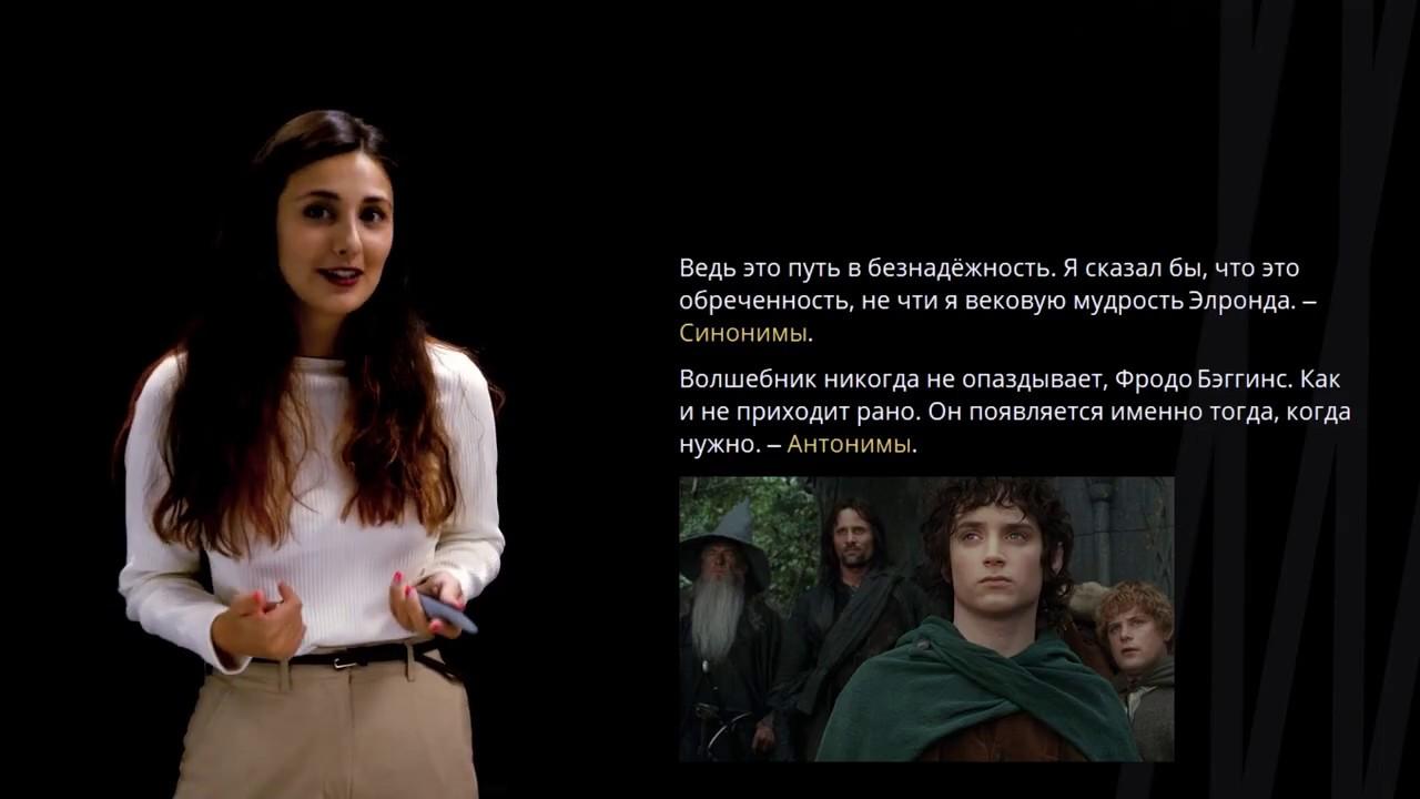 Средства связи частей текста Лексические | Русский язык