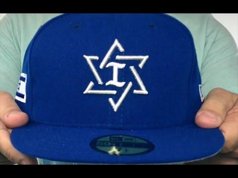 1f2fde67a63b Israel 'PERFORMANCE WBC-2' Royal Hat by New Era - YouTube