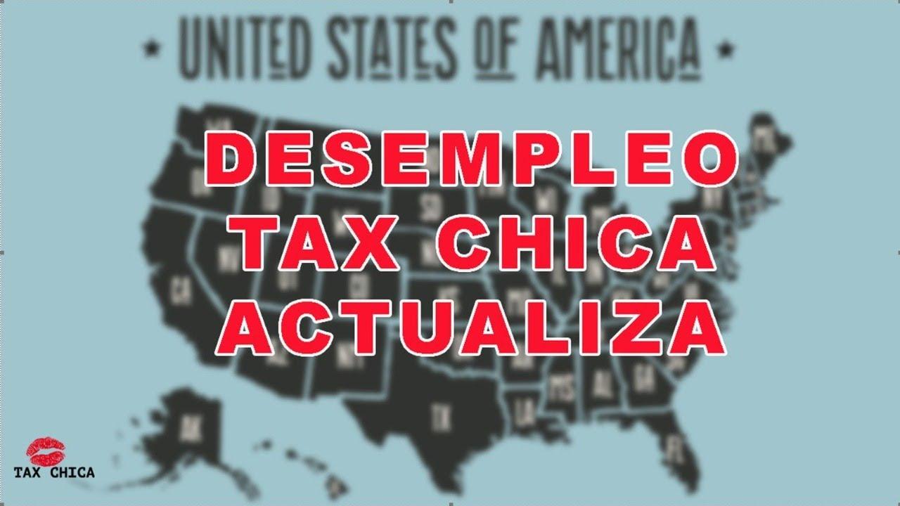 Que esta pasando con el Desempleo | Estimulo Economico | Tax Chica