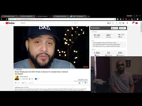 Music Producers! DO NOT Pirate or Borrow FL Studio! How I Almost Got SUED! (REACTION)