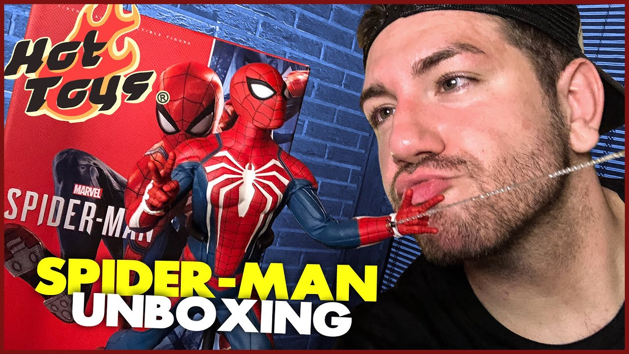 UNBOXING | Spider-Man PS4 (Advanced Suit) | Hot Toys