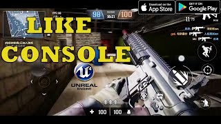 TOP 30 BEST NEW FPS TPS GAMES ANDROID IOS OF ALL TIME LIKE CONSOLE  UNREAL ENGINE 4  GRAPHICS 2020