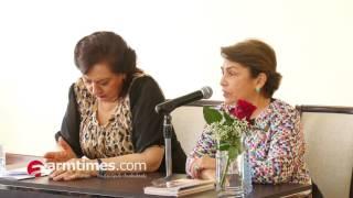 Սփյուռքի նախարարությունը ճոխ շնորհանդես էր կազմակերպել Արմեն Սարգսյանի կնոջ գրքի համար