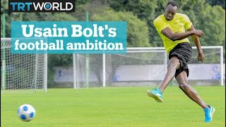 Usain Bolt has eyes on football career