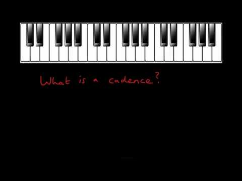 What is a cadence?