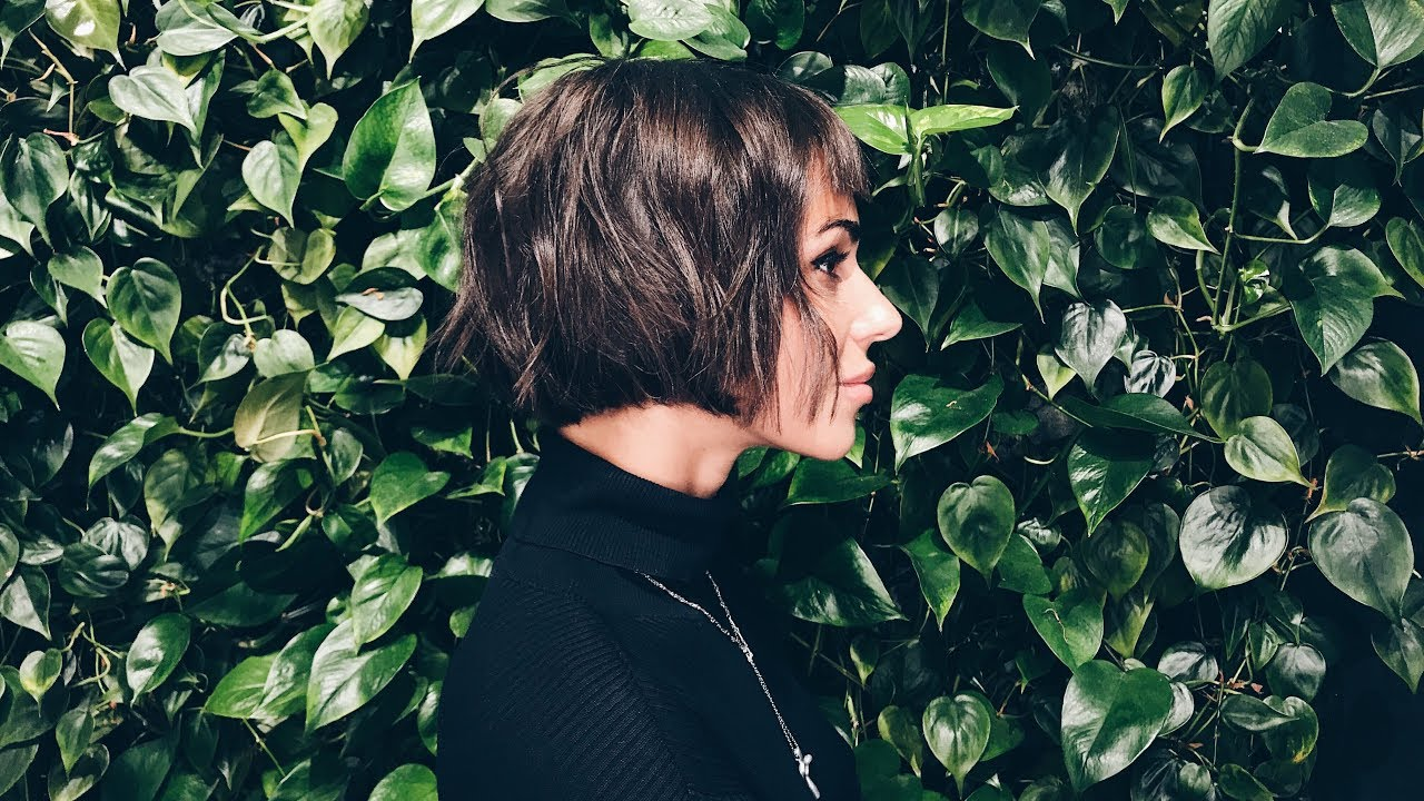 how to cut french bob with fringe
