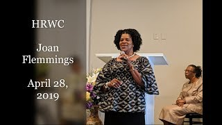 HRWC | Joan Flemmings (4-28-2019)