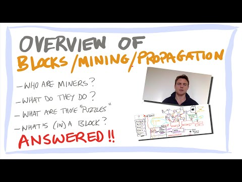 Blockchain/Bitcoin for beginners 6: blocks and mining, content and creation of bitcoin blocks