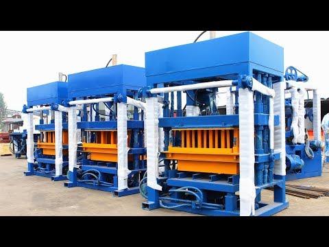 QT4 30 diesel engine block and brick making machine price sales in Ghana