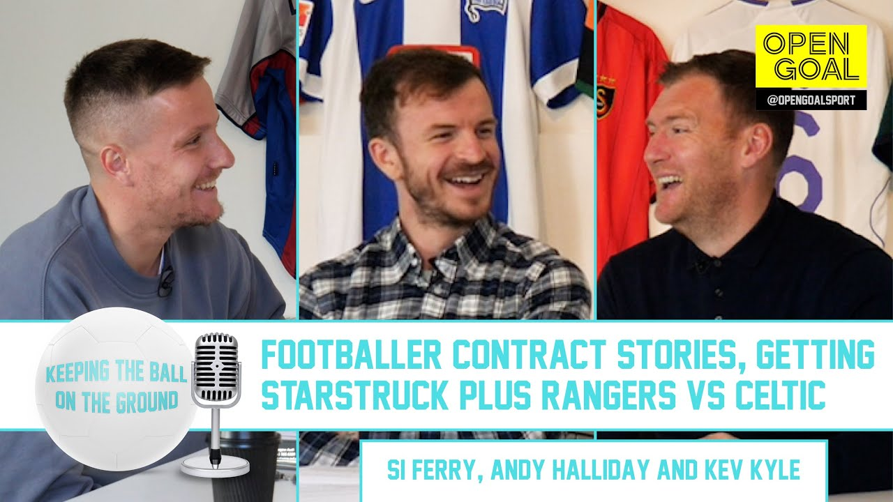 FOOTBALLER CONTRACT STORIES, GETTING STARSTRUCK & RANGERS VS CELTIC | Keeping the Ball on the Ground