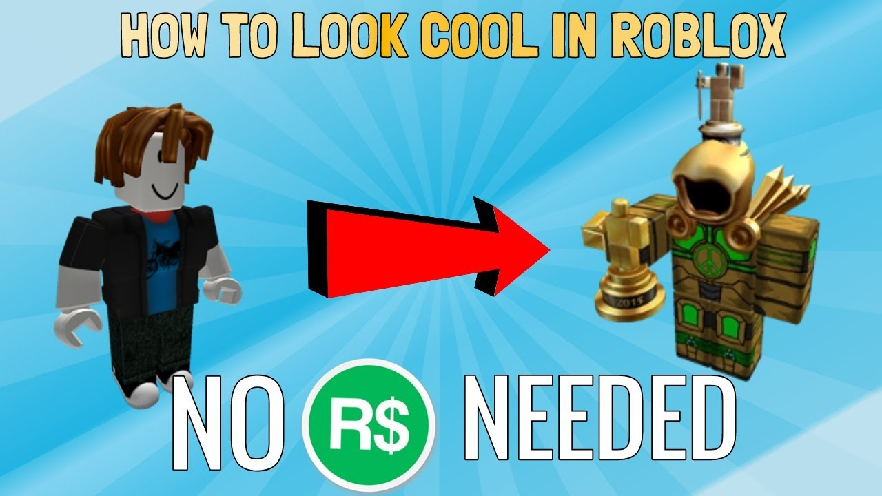 How To Look Cool In Roblox Without Robux On Ipad - How To Look Cool On Roblox Without Robux Boys