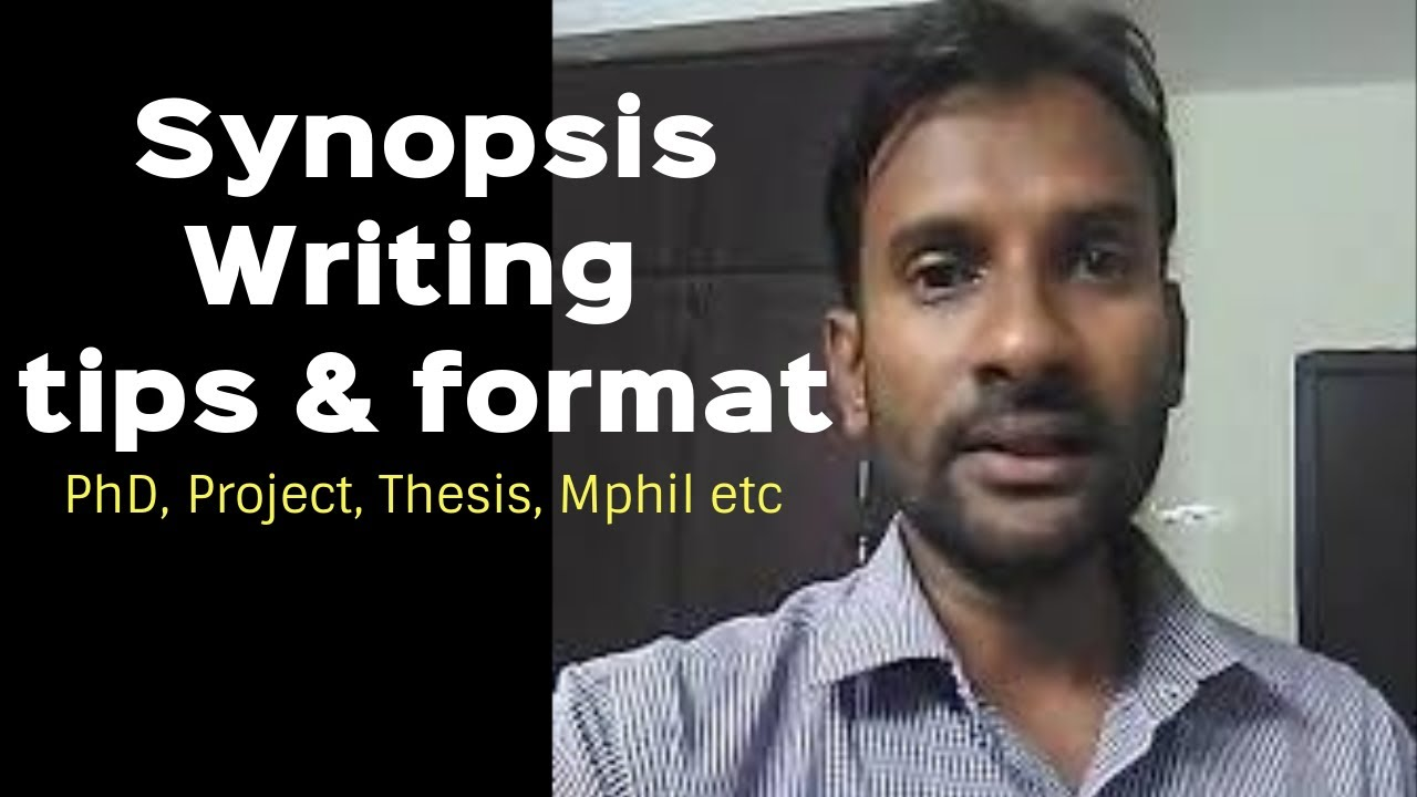 Phd thesis synopsis