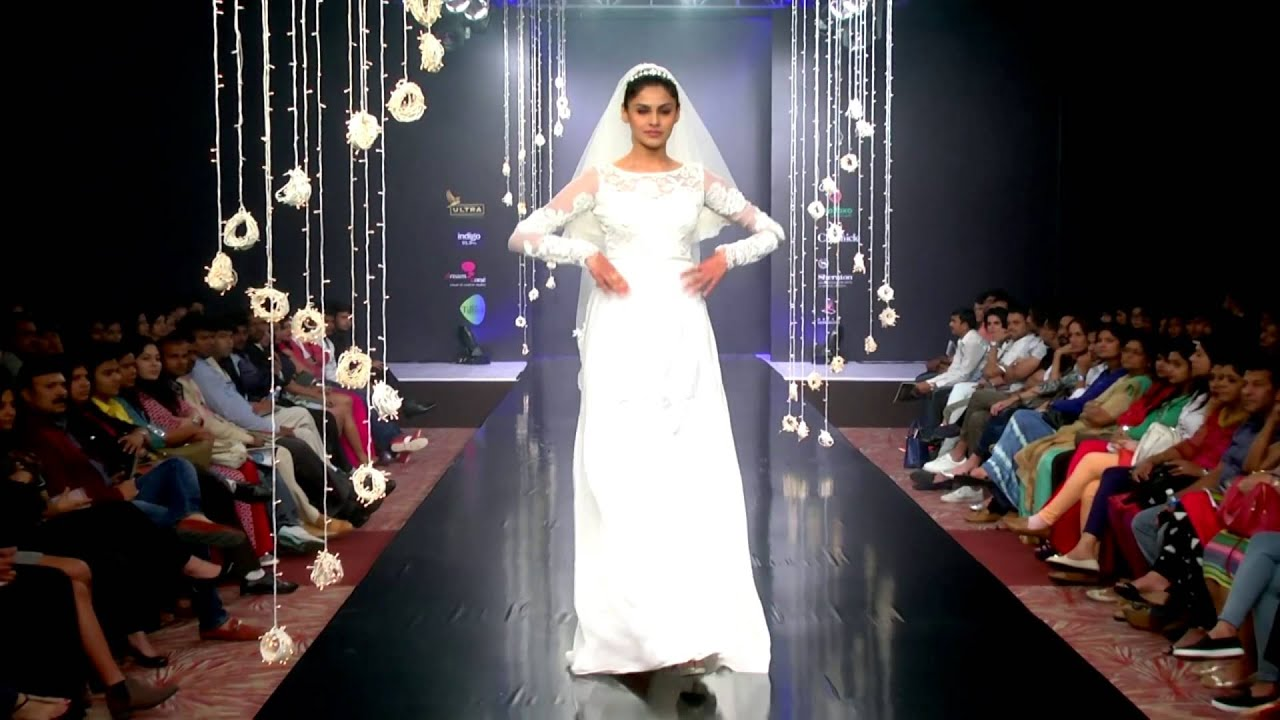 Bridal Gowns By Soucika at Bangalore Fashion Week - YouTube