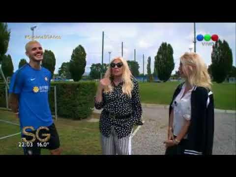 Adelanto: Susana y Wanda Nara juegan al metegol en Milán - Susana Giménez 2017