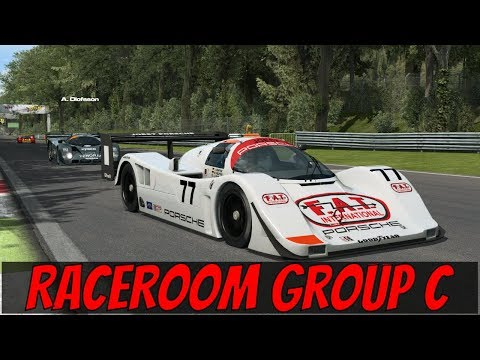 RaceRoom Group C Race At Monza - First Impressions / Review