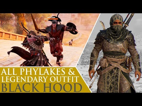 Assassin's Creed: Origins - All Phylakes & Black Hood Legendary Outfit