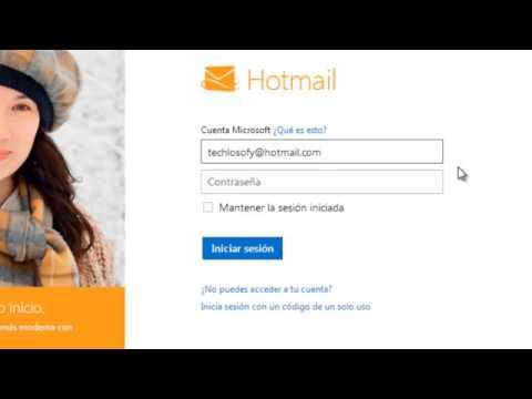 Cómo acceder a nuestra cuenta de Hotmail