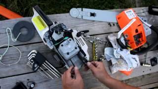 видео ремонт бензопилы своими руками
