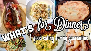 What's for Dinner || Cooking during a Quarantine || Ideas for delicious & easy meals!