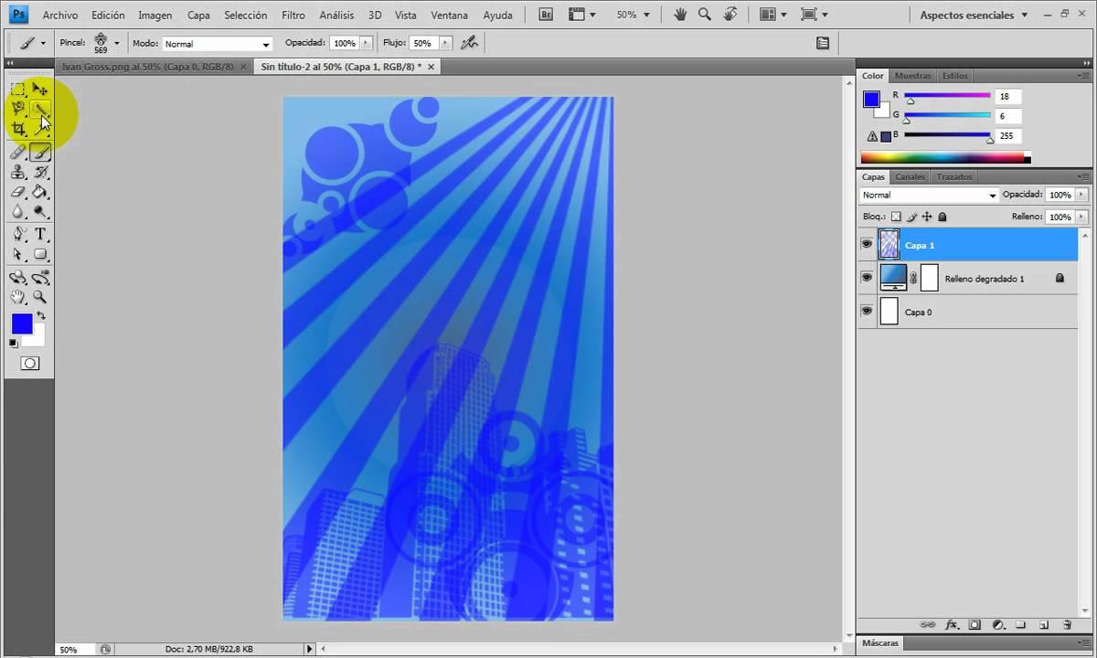 Hacer Una Invitación A Un Evento En Photoshop Perzonalizado Parte 1