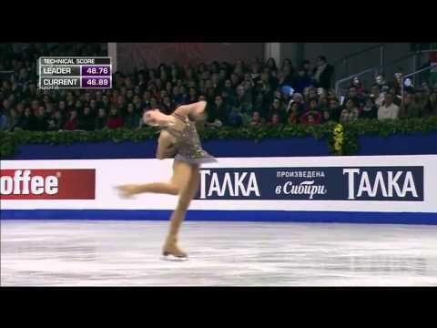 Аделина Сотникова Выступление Произвольная Программа Сочи 2014 Фигурное катание Олимпиада