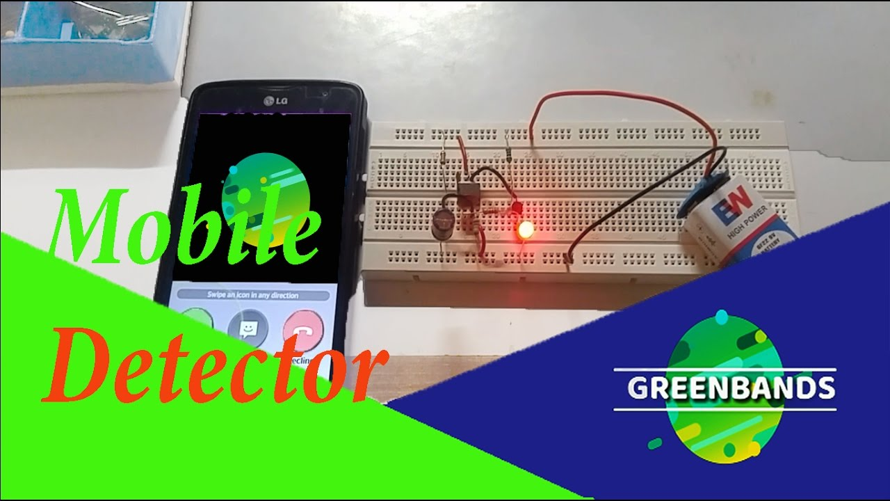 How To Make Simple Mobile Indicator Circuit Youtube Rf Detector Electronic Project Using Transistors