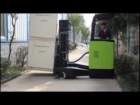 Lift Height 6m Narrow Aisle Forklift 2ton 4-direction ...