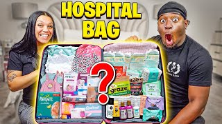 THE BABY IS ALMOST HERE **PACKING OUR HOSPITAL BAG**