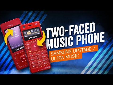 When Phones Were Fun: Samsung Ultra Music / Samsung UpStage (2007)