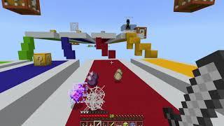 Minecraft    Lucky Block Race!!!