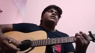 Tujhe kitna chahe aur hum guitar cover