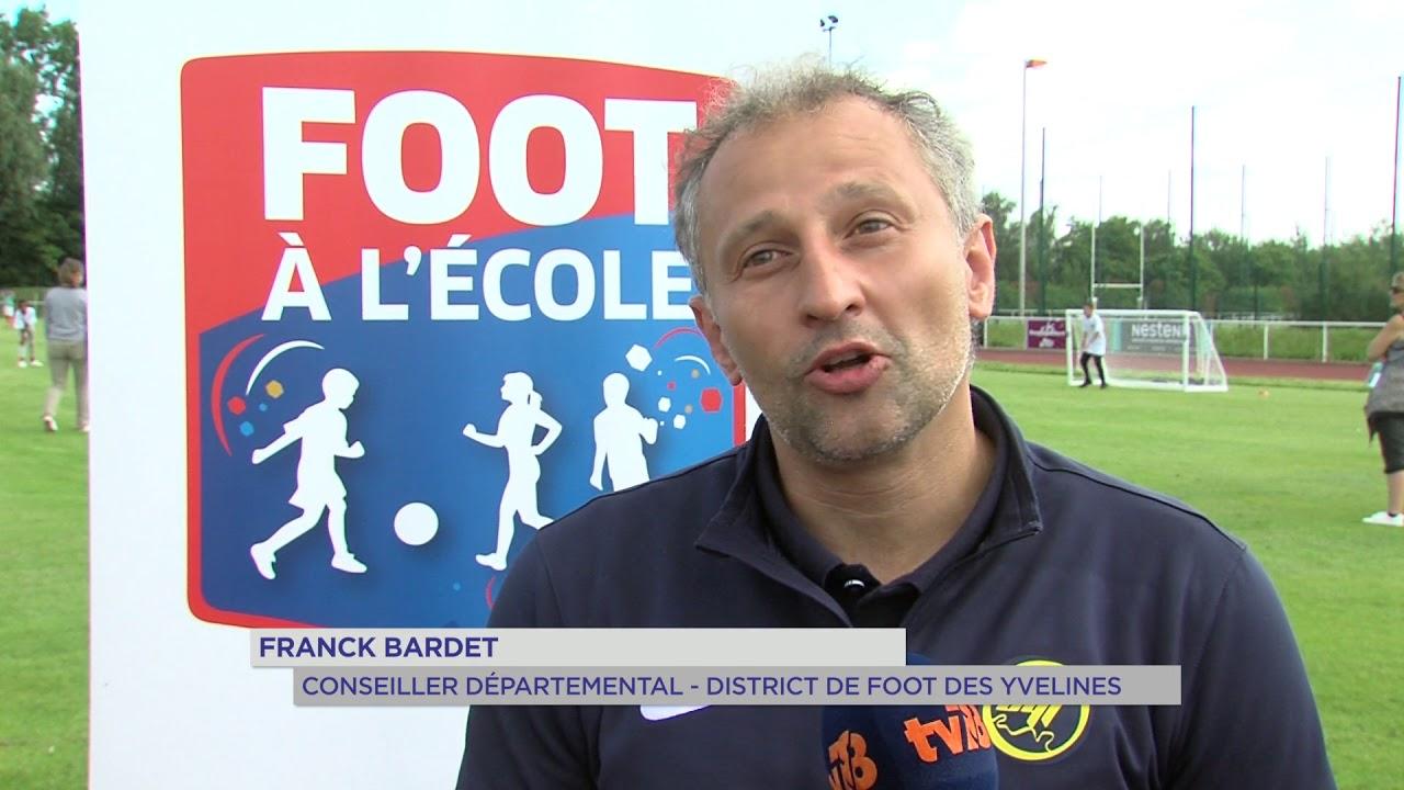 """300 élèves s'affrontent à Élancourt dans le cadre du dispositif """"foot à l'école"""""""