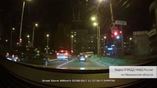 В Иванове 15 летний мотоциклист с пассажиркой врезался в маршрутку