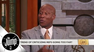 Byron Scott: I would love to see officials get fined like players do | The Jump | ESPN
