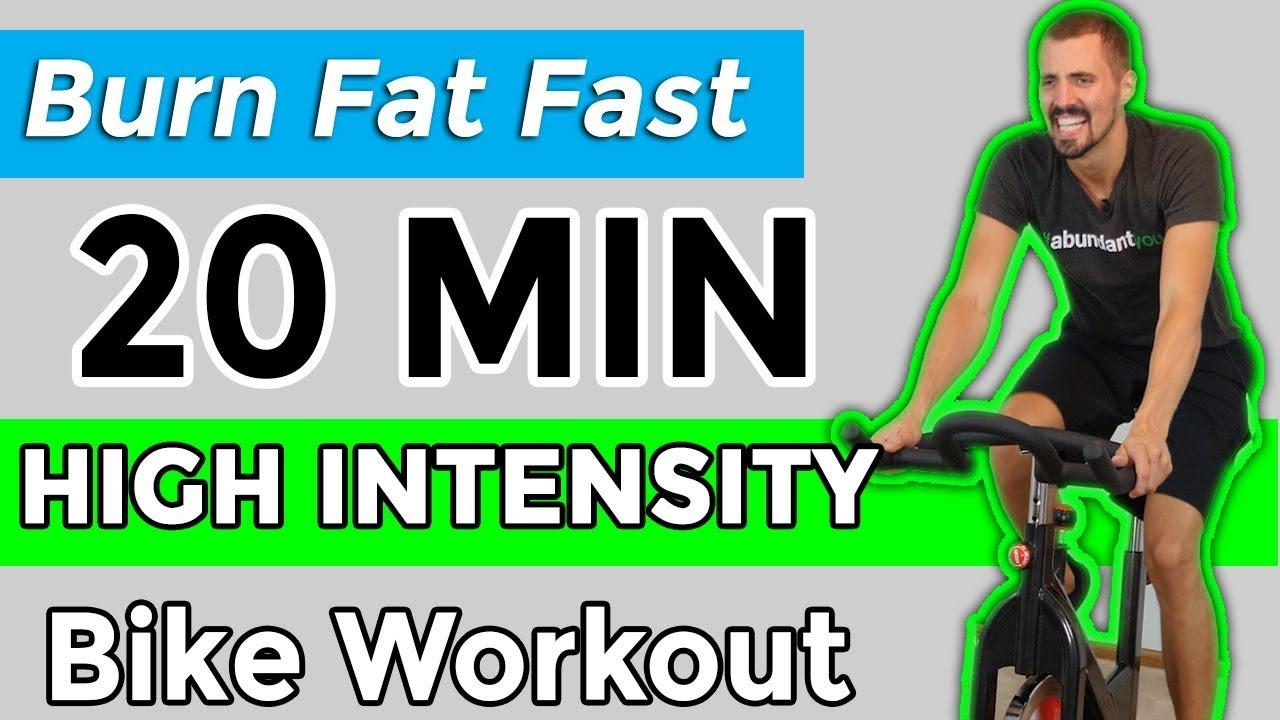 20 min hyit burn fat fast spin