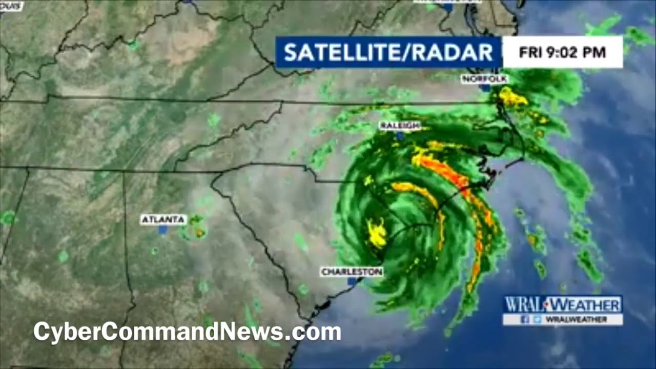 Hurricane Florence Slow Moving - Easy to understand why there was so much  damage and flooding