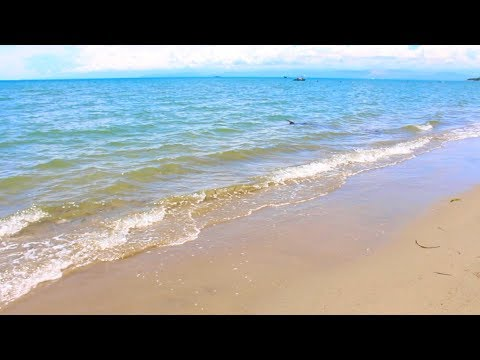 Beach Waves Sounds from Mindanao Philippines