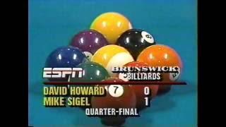 1988 US 9-Ball championship Caesars Las Vegas 3 matches