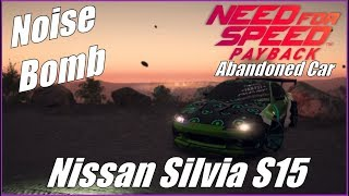 Noise Bomb Nissan S15 Abandoned Car Location & Chase!