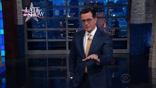 So Here We Are: Donald Trump Is Officially The President by : The Late Show with Stephen Colbert
