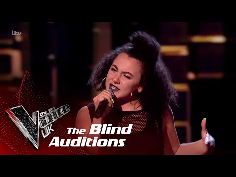 Kirby Performs 'Ciao Adios': Blind Auditions | The Voice UK 2018