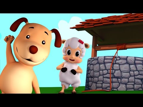 jack and jill | nursery rhymes | Farmees | 3d rhymes | kids songs | baby rhymes