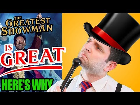 THE GREATEST SHOWMAN is GREAT | Here's Why (Ft. Jackie K. Cooper)