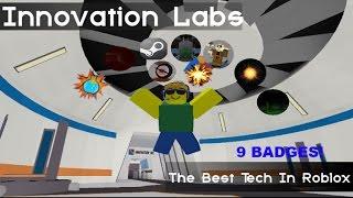 Roblox Innovation Labs: Get 9 Badges Tutorial!