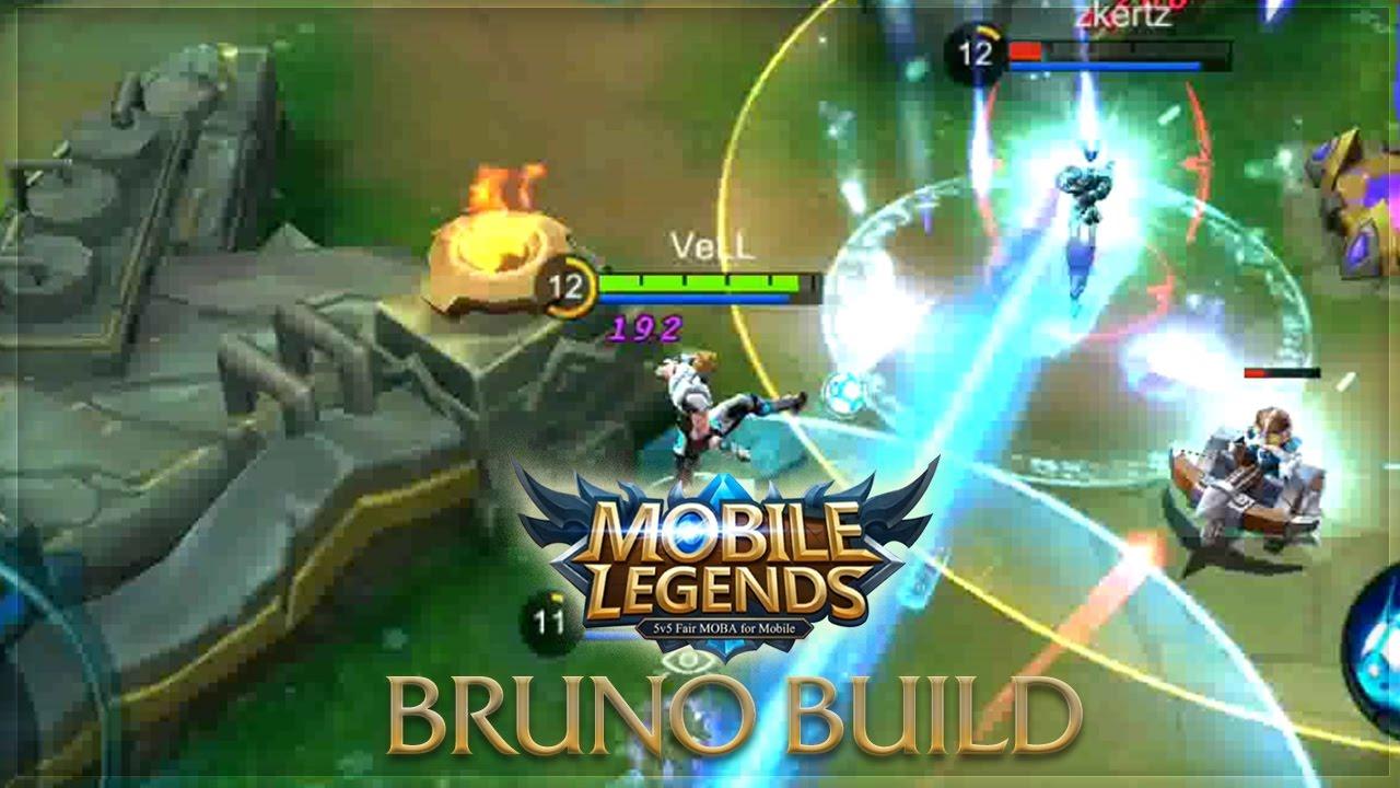 Mobile Legends: BRUNO UNSTOPPABLE BUILD - YouTube